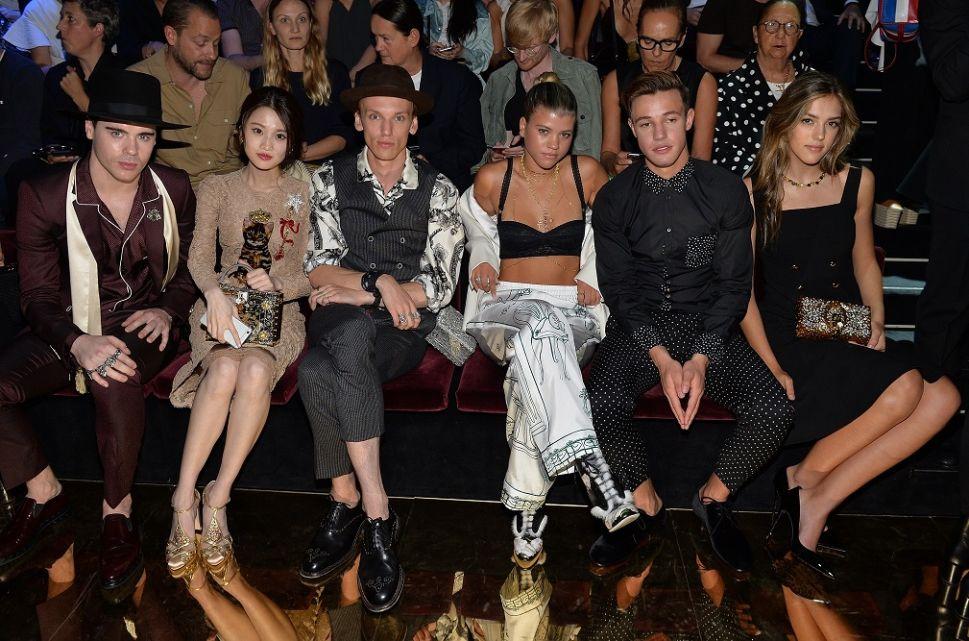 Meet the Millennial Celebs From Dolce & Gabbana's Front Row