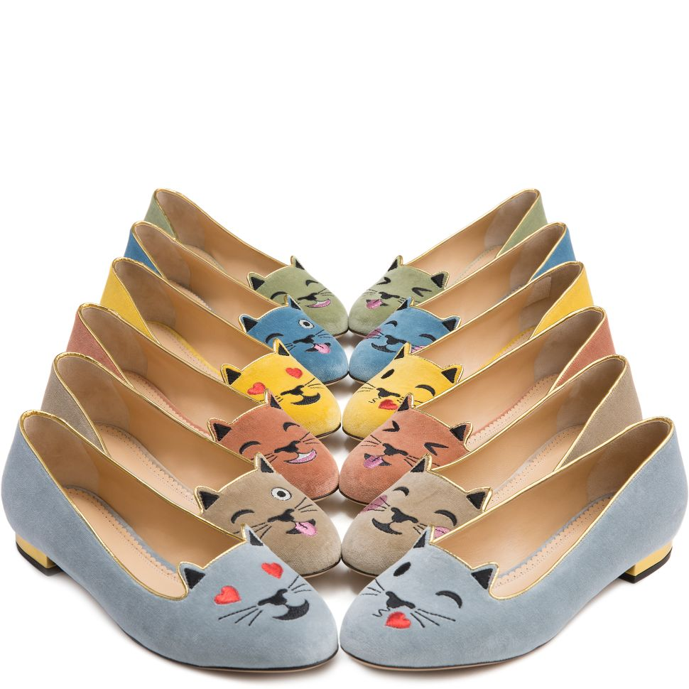 Charlotte Olympia Turned Your Favorite Cat Emojis Into Shoes