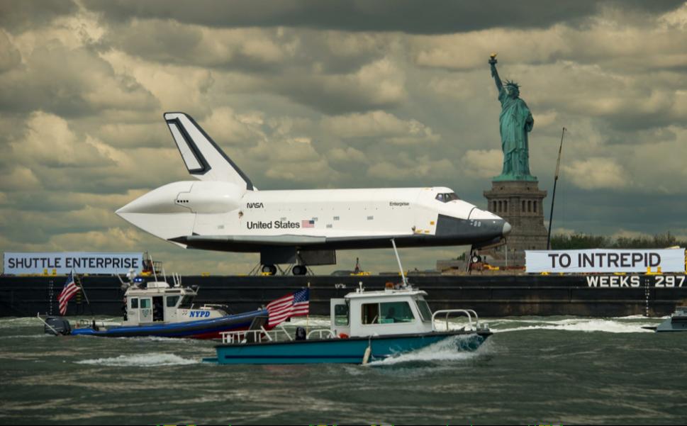Space Shuttle Enterprise: From Richard Nixon to New York City