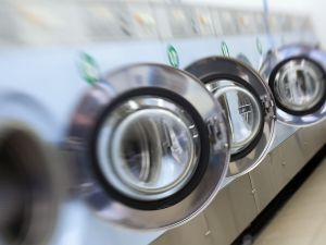 Laundry machines in France, 2012.