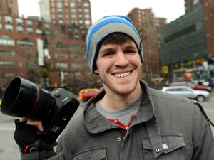 Humans of New York creator Brandon Stanton.