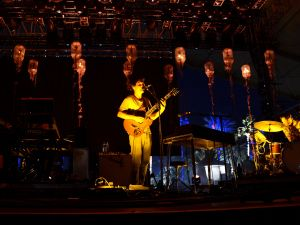 Grizzly Bear at Coachella in 2013.