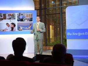 John Katzman, CEO and founder of Noodle Education speaks onstage at The New York Times 2014 Schools For Tomorrow Conference at TheTimesCenter on September 9, 2014 in New York City.
