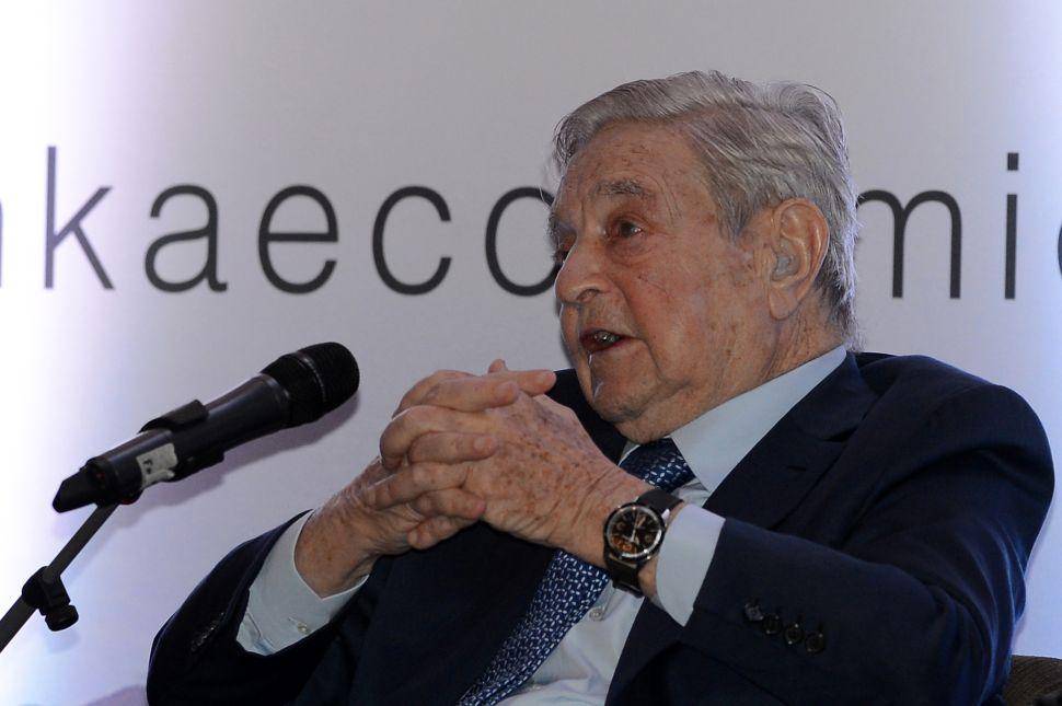 Ban George Soros, Demands Latvian Politician