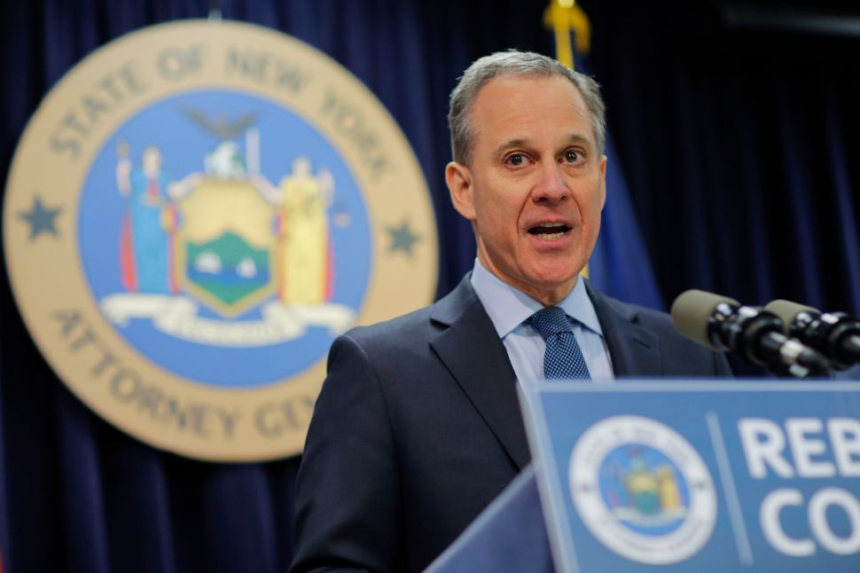 New York Attorney General 'Ready' to Sue Trump to Defend Health Care Subsidies
