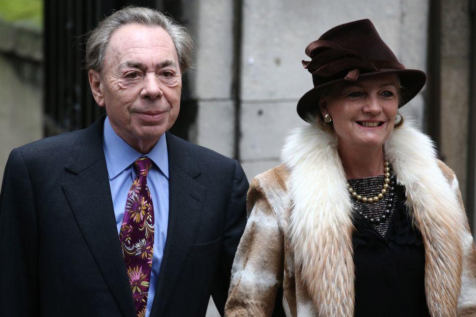 Madeleine and Andrew Lloyd Webber Expand Trump International Holdings