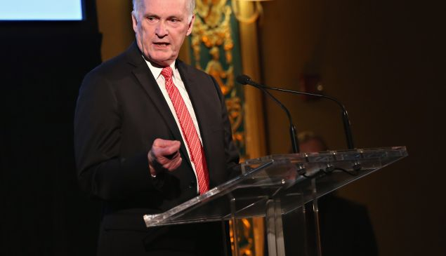 Commissioner, Department of Correction, Joseph Ponte speaks during the Stella By Starlight 11th Annual Fundraising Gala at Prince George Ballroom on June 13, 2016 in New York City.