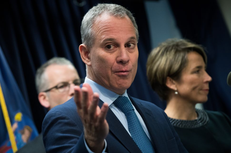 To Fight Climate Change, Attorney General Eric Schneiderman Deputizes Thought Police