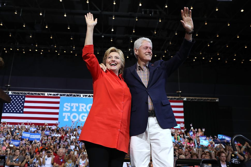 The Imaginary Controversies Surrounding the Clintons