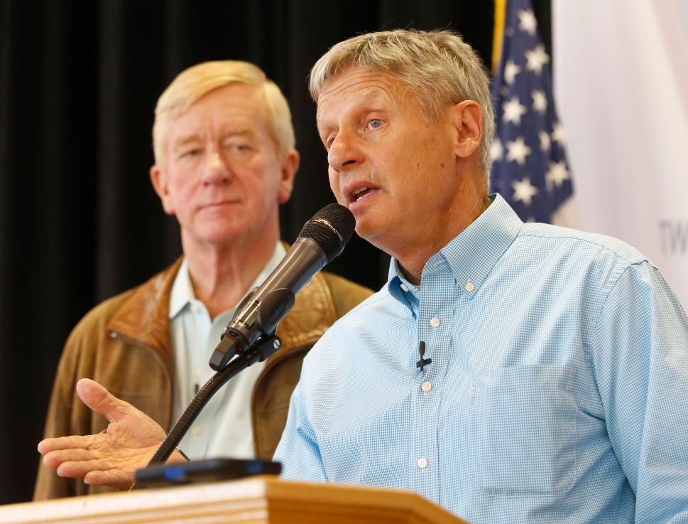 Libertarian VP Candidate Bill Weld an Unlikely Champion of the Common Man