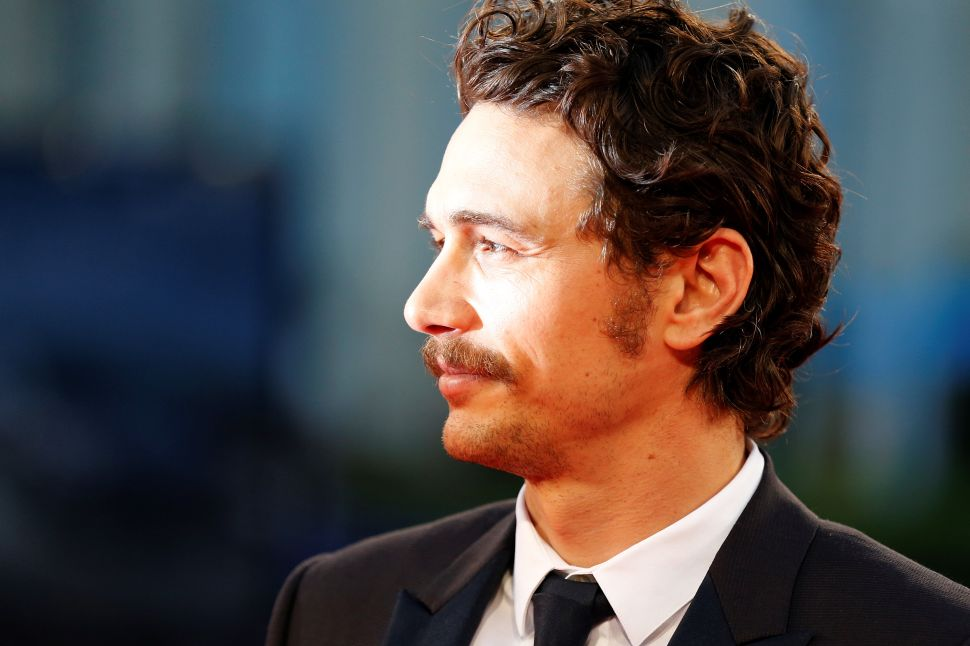 James Franco Debuts Steinbeck and Staches in Venice