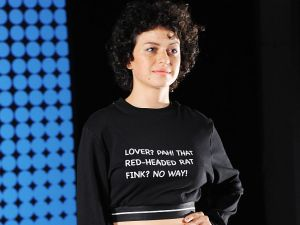 Actress Alia Shawkat poses during the Betty And Veronica By
