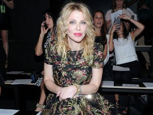 Courtney Love was one of the more unexpected guests.