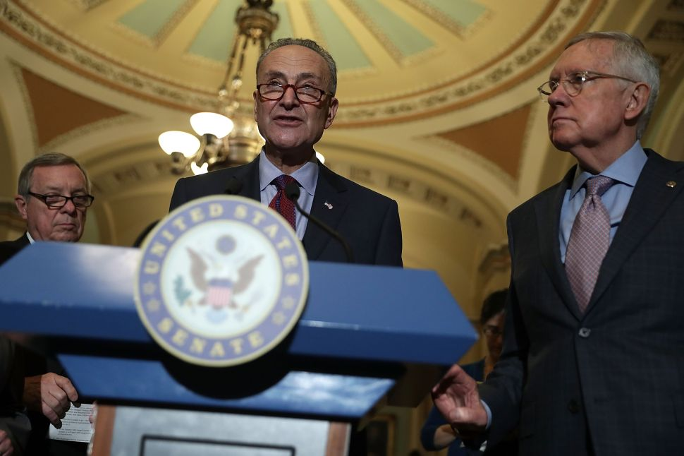 Charles Schumer Spreads Wall Street Donations to Expedite Senate Takeover