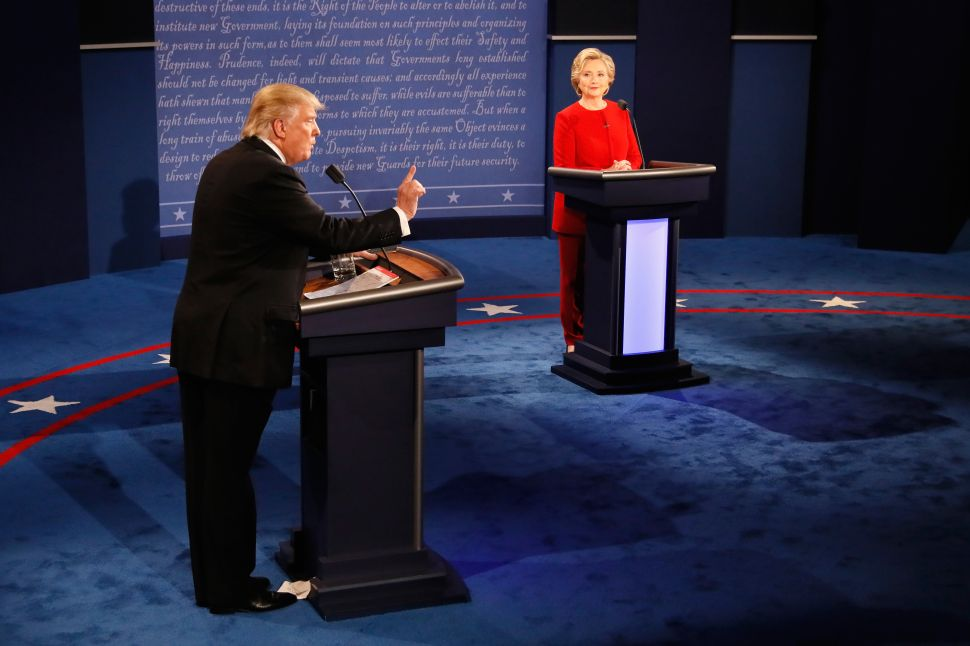 Stockton New Jersey Poll: Clinton 51%, Trump 40%
