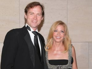 Charles Askegard and Candace Bushnell pre-divorce.
