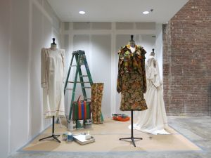 The Balenciaga installation on the first floor