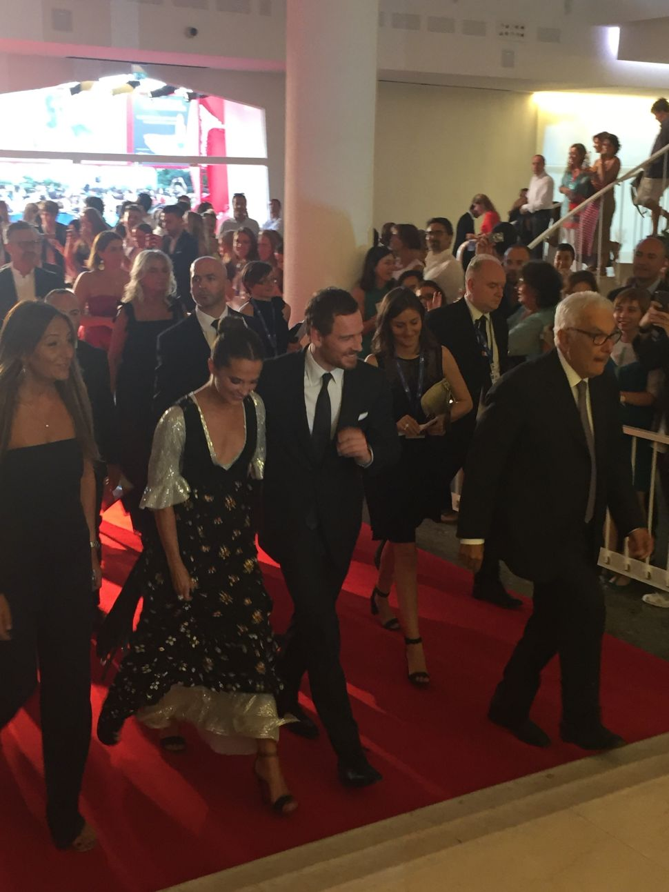 Michael Fassbender and Amy Adams Shine at Venice Film Festival