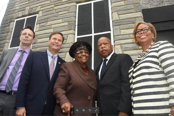 Legendary Civil Rights Leader John Lewis Appears in Camden with Rep. Norcross