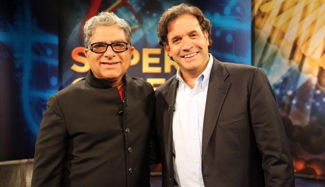 Dr. Randolph Tanzi with his co-author Deepak Chopra