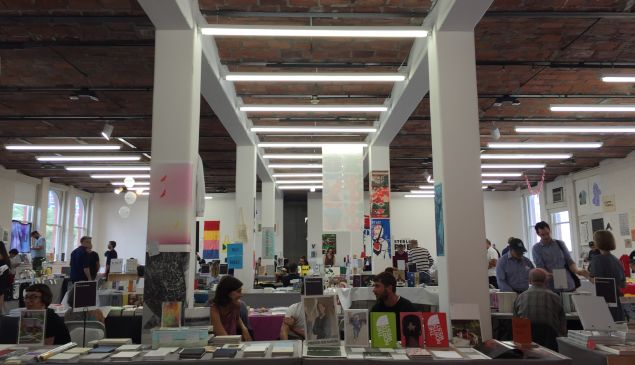 Welcome to the 2016 Printed Matter NY Art Book Fair!