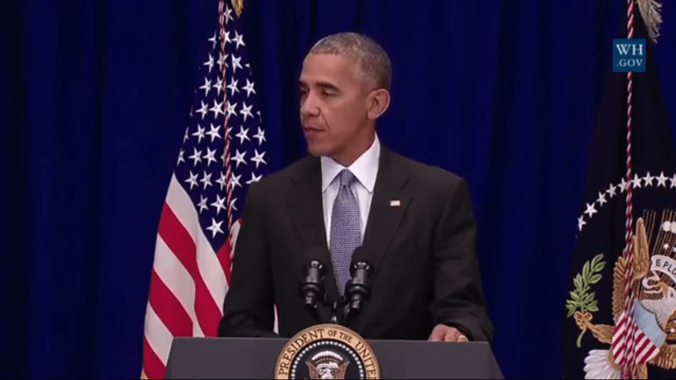 'No Connection' Between Chelsea Bomber and Minnesota Stabbing, President Obama Says