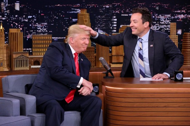 Jimmy Fallon Replaces Christie as Trump's Court Jester