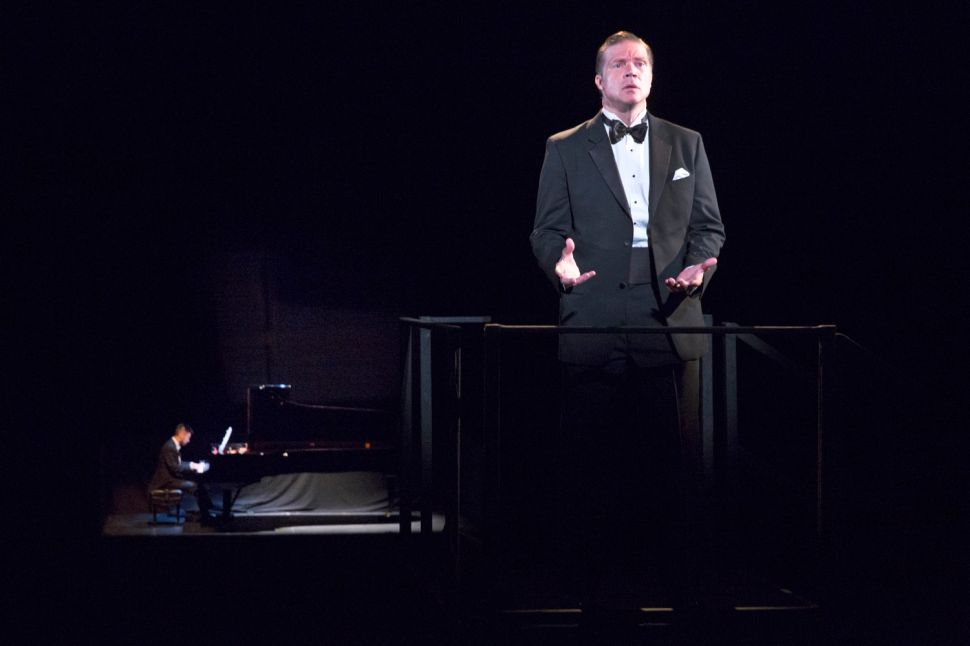 Cold, Ironic Opera 'the loser' Hovers Over Brooklyn Academy of Music