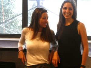 Romy Raad and Natalie Neumann, Metabrew co-founders, inside Brooklyn Food Works.
