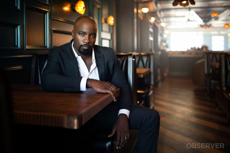 Mike Colter Is Bulletproof