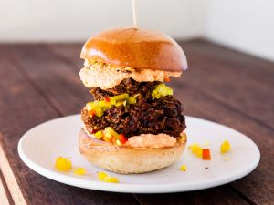 Make Sunday a scorcher with Ted Hopson's hot chicken sandwich.