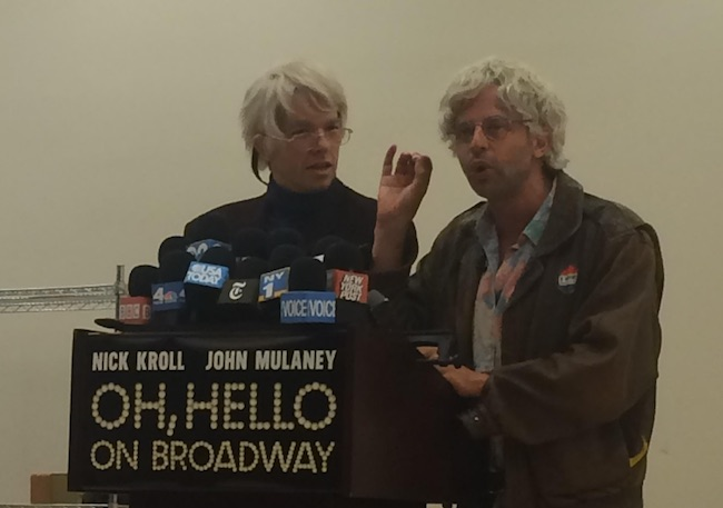 'Oh, Hello' Creators Nick Kroll and John Mulaney on Broadway Dream Guests