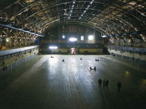 The Wade Thompson Drill Hall at the Park Avenue Armory.