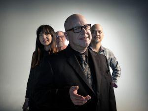 From left: Paz Lenchantin, David Lovering, Black Francis, Joey Santiago