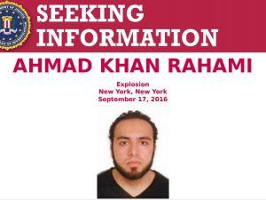 FBI poster seeking Ahmad Khan Rahami.