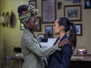 Rutina Wesley as Nova and Dawn-Lyen Gardner as Charley in Queen Sugar.