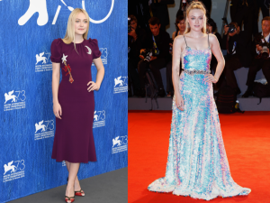 Dakota Fanning in day versus night