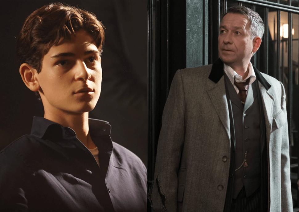 'Gotham' Stars David Mazouz and Sean Pertwee on Season 3, Mad Hatter and Bruce's Twin