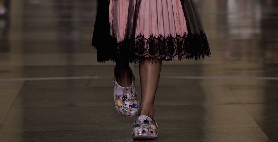 Christopher Kane Is Trying to Make Crocs a Thing