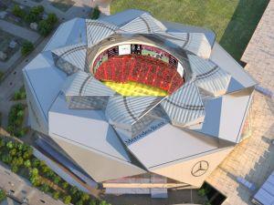 Mercedes-Benz Stadium.