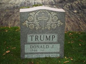 Brian Andrew Whiteley, Trump Tombstone.