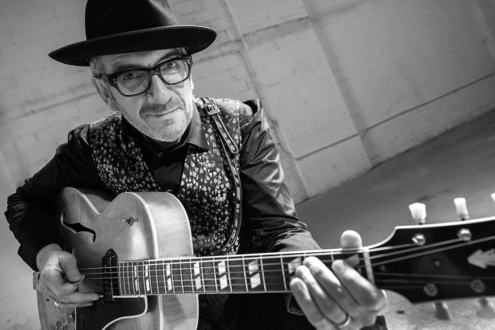 Forever a Showman, It's Never a Dull Evening With Elvis Costello