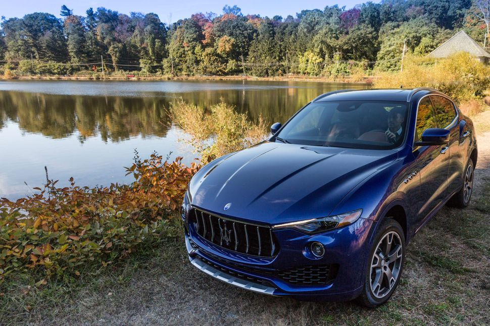 Test Driving Maserati's New SUV, the Levante