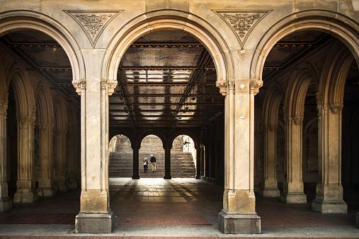 Bethesda Terrace Arches, Central Park