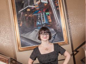 Alamo Drafthouse Downtown Brooklyn programmer Cristina Cacioppo.