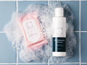 """The cleansing products offered by Love Wellness are the """"Do It All"""" wipes and the """"PH Balancing Cleanser."""""""
