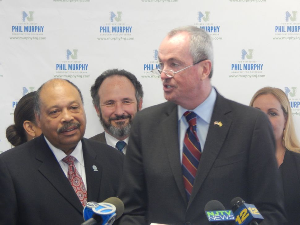 Where Things Appear to Stand RIGHT NOW in Murphy World (New Jersey)