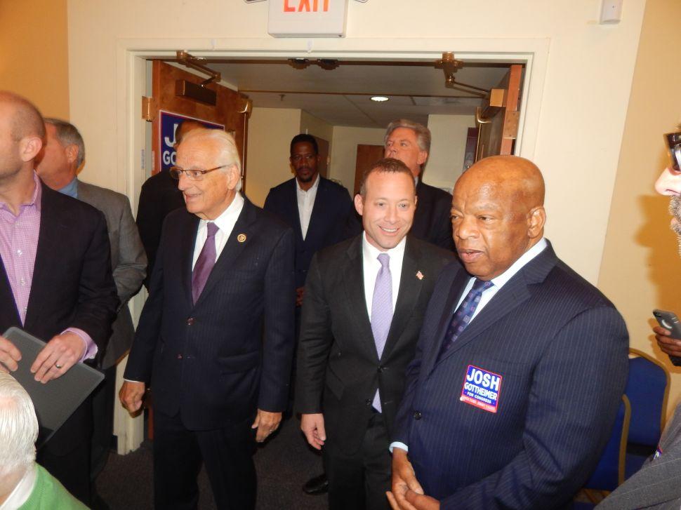 Gottheimer, Dems, Turn to John Lewis to Polish Off Scott Garrett in NJ's CD5