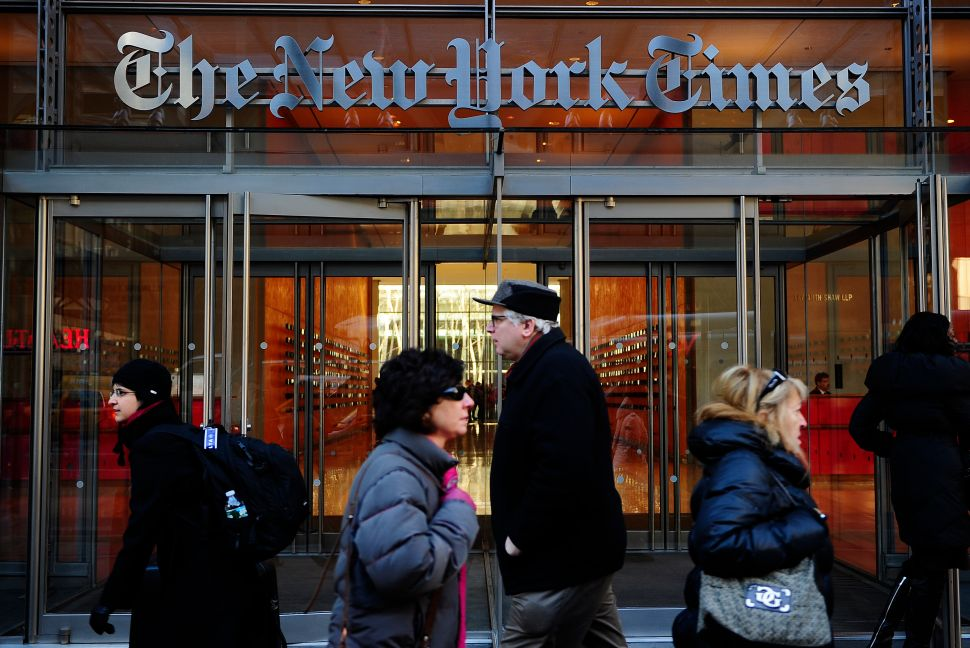 WikiLeaks: New York Times Propped Up Clinton, Subverted Sanders
