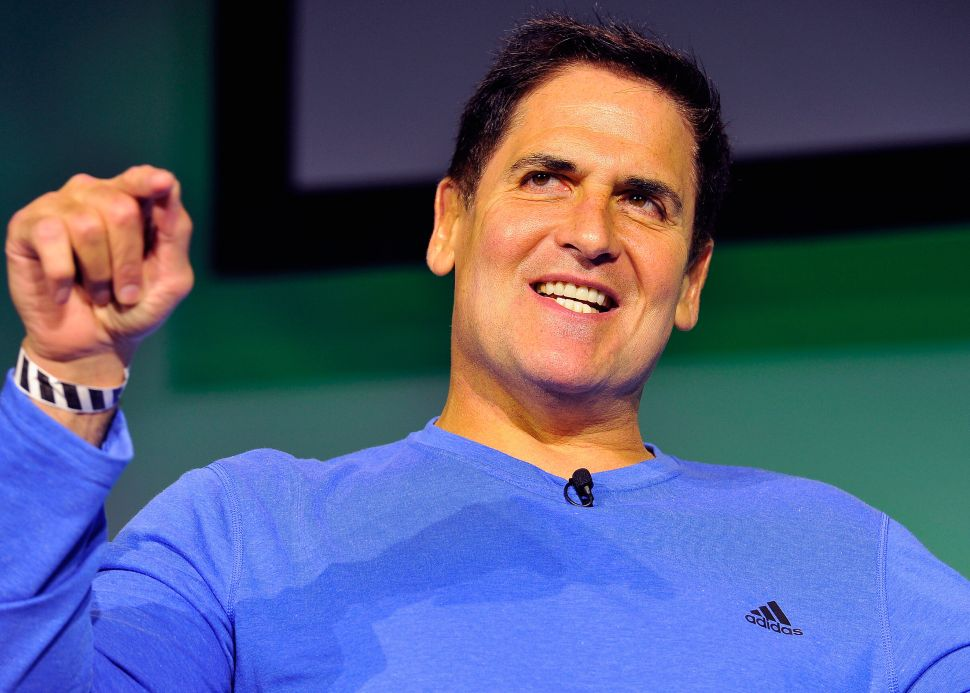 Mark Cuban Has a Plan to Make Silicon Valley Better for Women
